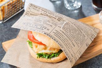 汉堡三明治包装铝箔纸